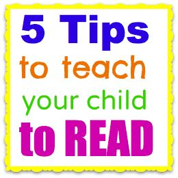 5 tips to teach your child to read 717 | 5 tips to teach your child to read