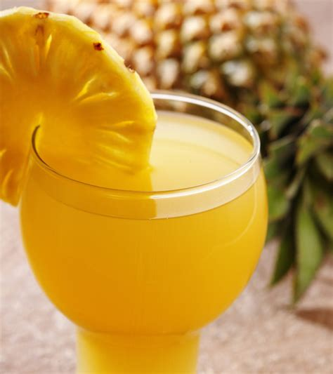 pineapple juice benefits skin health hair uses guava tropical healthy recipes fruit drinks stylecraze chattopadhyay aparajita