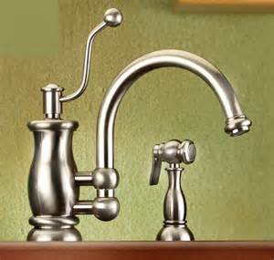 traditional kitchen faucet vintage style kitchen faucet from mico the seashore faucet line