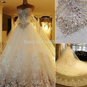 places that buy wedding dresses amazing 2015 luxury wedding dresses bridal gowns crystals cathedral wedding formal dresses with