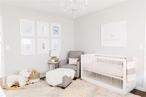 An Adorable Nursery For Molly Of Kind Campaign
