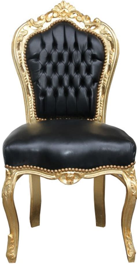 Esszimmer Le Schwarz Gold by Casa Padrino Barock Esszimmer Stuhl Schwarz Gold