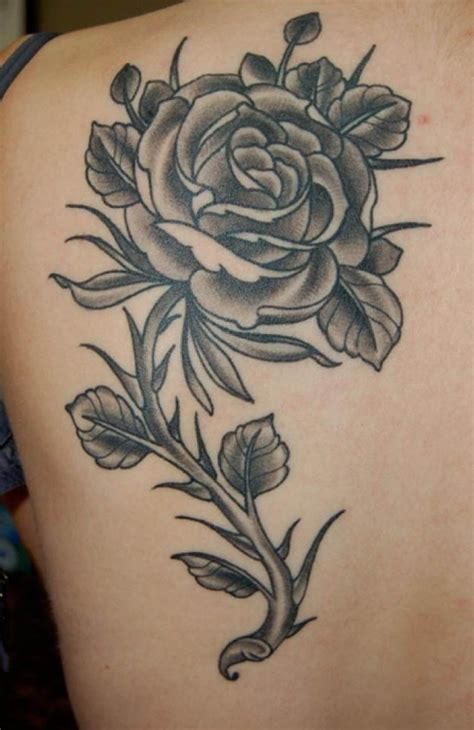 black rose tattoo designs ideas  images women fashion  lifestyles