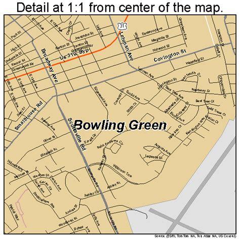 Bowling Green Kentucky Street Map 2108902