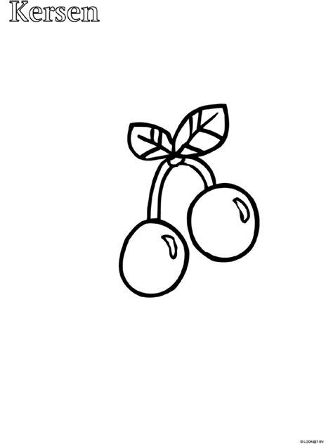 Citroen Fruit Kleurplaat by Pin Kleurplaat Kersen Citroen Appel On