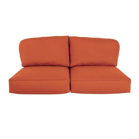 Loveseat Replacement Cushions by Brown Northshore Replacement Outdoor Loveseat