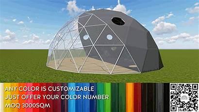 Dome Tent Yoga Campsite Leisure Facilities Backyard