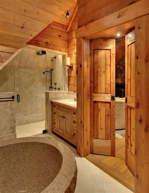 Rustic Cabin Bathrooms by 97 Best Images About Bathroom Ideas On Rustic