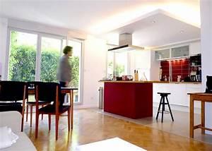 Eclairage Plafond Cuisine : enchanteur eclairage cuisine plafond et suparieur ~ Edinachiropracticcenter.com Idées de Décoration