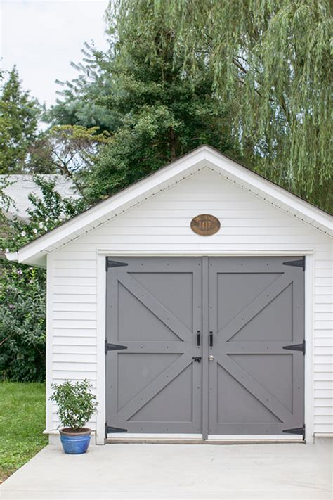 White Diy Shed by A New Jersey Home Restored To Its Craftsman Design