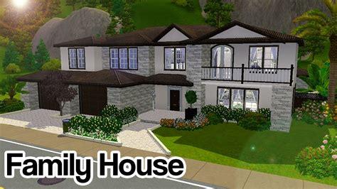 sims   modern elegant family house  cc youtube