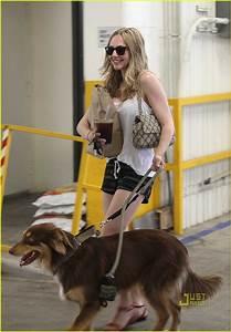 Amanda Seyfried & Finn Walk in West Hollywood: Photo ...