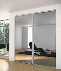 Porte Coulissante Placard Miroir : dressing porte placard sogal mod le de porte de ~ Melissatoandfro.com Idées de Décoration
