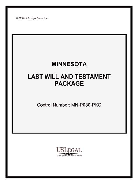 You can download minnesota last will and testament form or fill it out on your computer online using pdfliner's editor. Fill, Edit and Print Minnesota Last Will and Testament ...