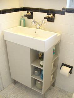 ikea lillangen sink hack 1000 images about powder room on powder rooms
