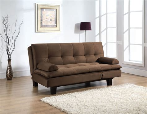 Convertible Loveseat Bed by Aruba Cushion Pillow Top Java Convertible Sofa Bed