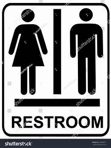 Male female restroom sign stock vector 220086877 for Male female bathroom sign images