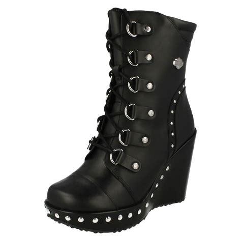 womens biker boots harley davidson quot sandra quot womens biker boots ebay