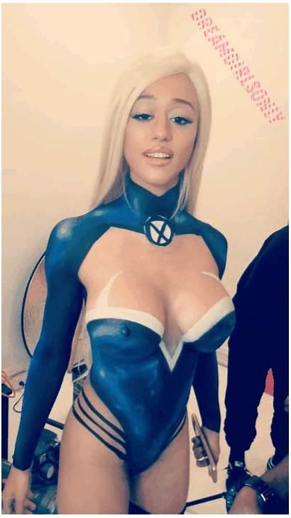 Nude Maya Stormi Cosplay Dreamgirlsonly Marvel Woman