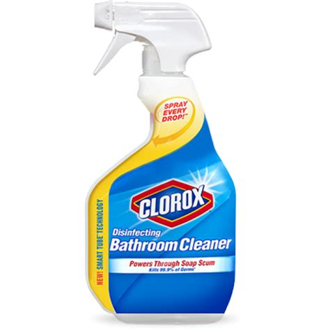 clorox desinfectant bath cleaner 30oz cleaning agents