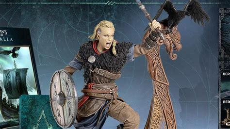 valhalla creed eivor assassin ravens demand things female statue rock