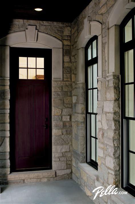 pella architect series fiberglass craftsman doors