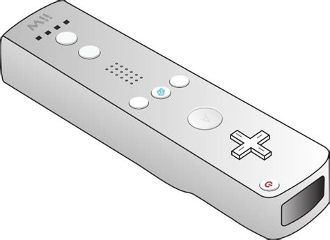 Wii Remote Clip Art Free Vector In Open Office Drawing Svg