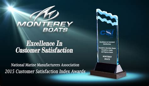 Miami Boat Show Industry Breakfast by Don Marino Boats 187 Monterey Boats Recognized With Marine
