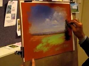 Peindre Au Pastel : d monstration de pastels paysage de campagne youtube ~ Melissatoandfro.com Idées de Décoration