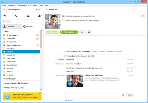 skype bureau windows 8 1 microsoft launches preview of skype messaging for