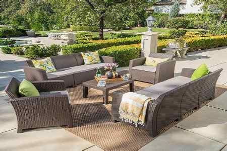 Deals On Outdoor Furniture by High End Patio Furniture Sets 2019 Trends Outdoor Dining
