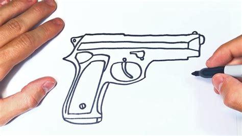 Equipa tu hogar con productos de las mejores marcas. Cómo dibujar una Pistola Paso a Paso | Dibujo de Pistola - YouTube