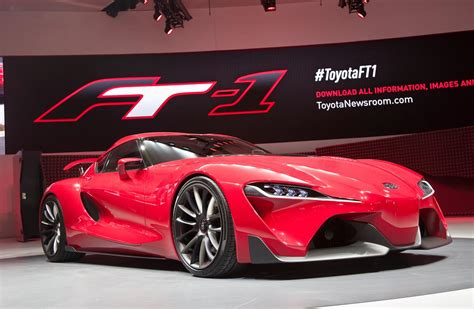 Toyota Ft 1 Concept 2018 Detroit Show Front Front Seat