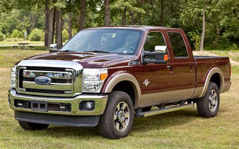 ford super duty reclaims diesel power title  hp