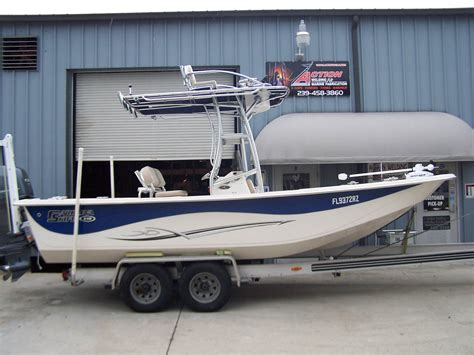Skiff With Tower by Helm T Towers On Center Consoles For The Carolina Skiff