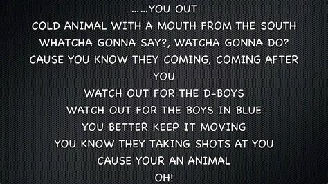 yelawolf ft fefe dobson animal lyrics  screen youtube
