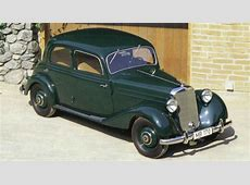 1952 MercedesBenz 170D Information and photos MOMENTcar