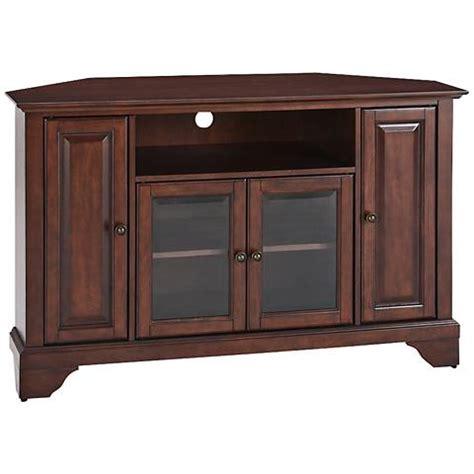 mahogany tv cabinet with doors lafayette 4 door vintage mahogany 48 quot corner tv stand