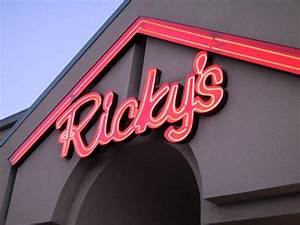 Ricky s All Day Grill Calgary Alberta Neon Signs on