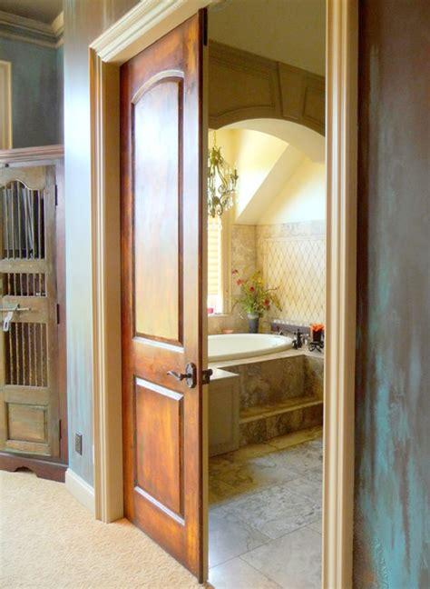 faux plastered doors interior doors portland by