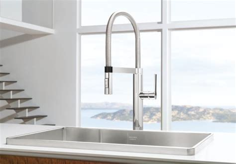 Blanco 441331 Culina Semi Pro Kitchen Faucet   Chrome