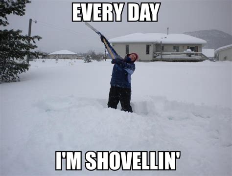 Shoveling Snow Meme - snow storm quotes funny quotesgram