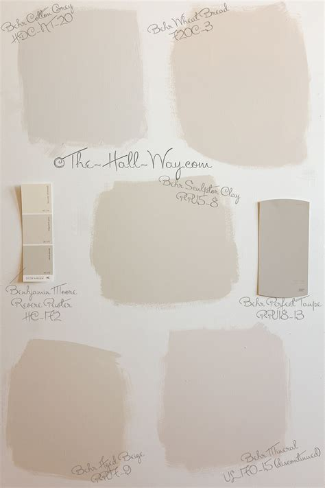 paint color options behr cotton grey wheat bread