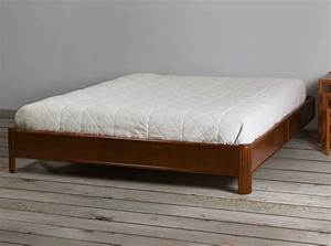 Cadre Lit Bois : encadrement de lit en rotin brin d 39 ouest ~ Teatrodelosmanantiales.com Idées de Décoration