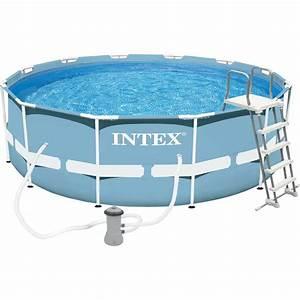 Piscine Tubulaire Intex : piscine hors sol autoportante tubulaire prism frame intex ~ Nature-et-papiers.com Idées de Décoration