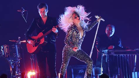 Lady Gaga's Shallow Performance At The Grammys Became The Night's Hottest Meme Bt