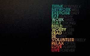 Motivational Monitor: Inspirational Desktop Backgrounds ...