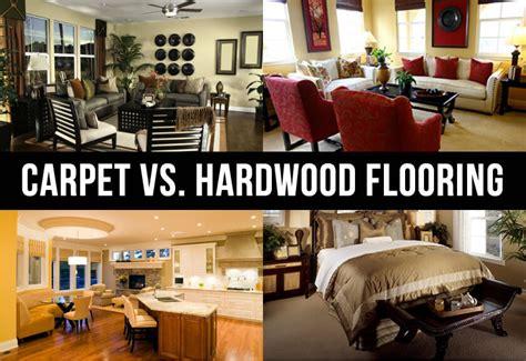 Bedroom Carpet Vs Hardwood by Carpet Vs Hardwood Flooring Each Has Their Own Benefits