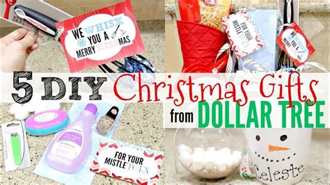 diy dollar tree christmas gifts people