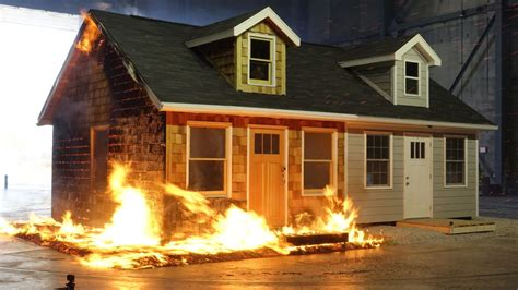 fire resistant homes     defense